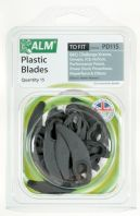 ALM Plastic Blades - Pack of 15